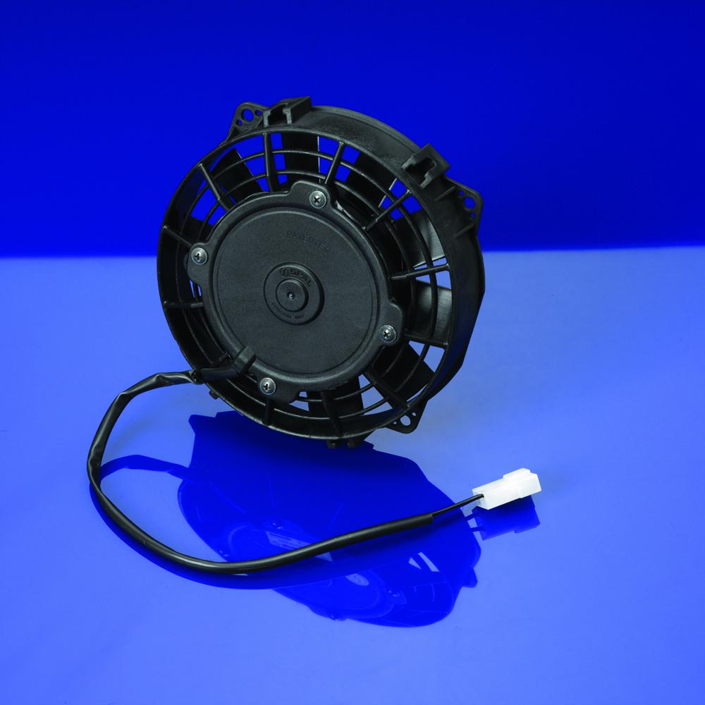 Spal 6 5 straight blade low profile fan 12 volt puller for 12 volt window fan