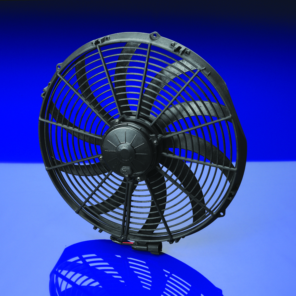16 Blade Fan : Spal quot curved blade extreme performance fan volt