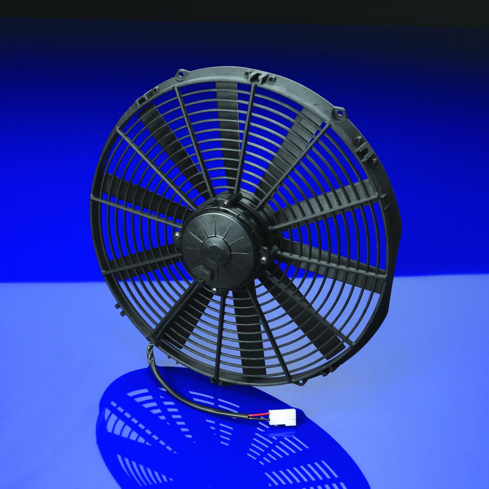 Spal 16 straight blade high performance fan 12 volt for 12 volt window fan