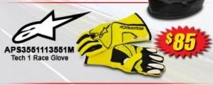 Alpinestars Tech 1 Race Glove