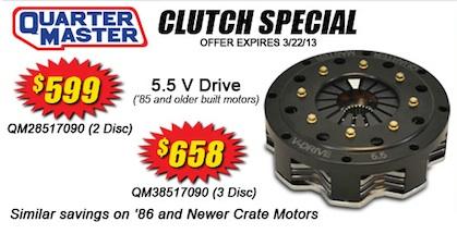 Quarter-Master-Clutch-Sale