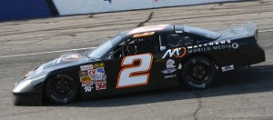 Jake Engle and the #2 Ford Fusion