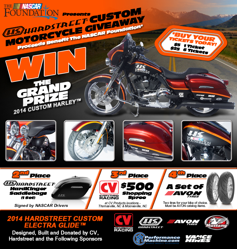 CV Products Motorcycle Giveaway